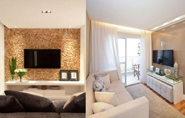 Distância ideal entre o sofá e a TV