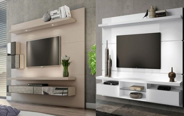 Agora se você quiser adicionar mais funcionalidade a este móvel, opte por uma peça que possua prateleiras ou gavetas