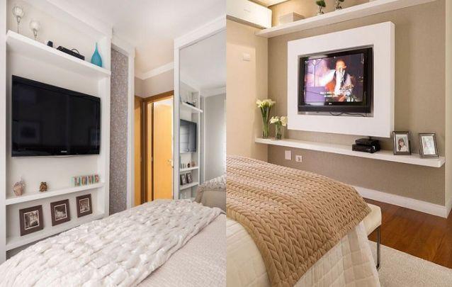 Engana-se quem acredita que o painel para TV é uma peça exclusiva para a sala, ele fica muito bem também em outros ambientes