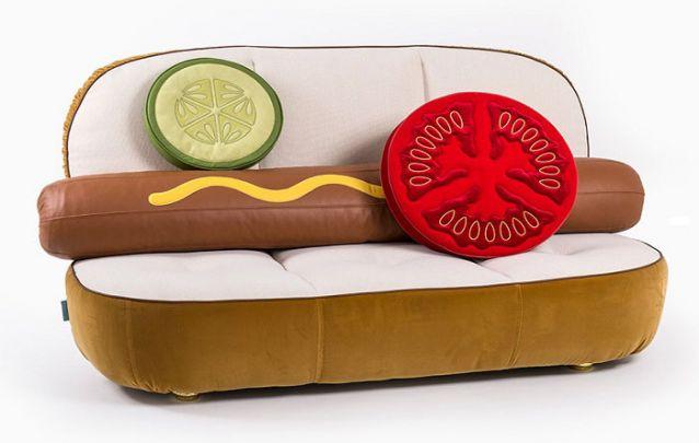 Sofás inspirados em Fast Food 1