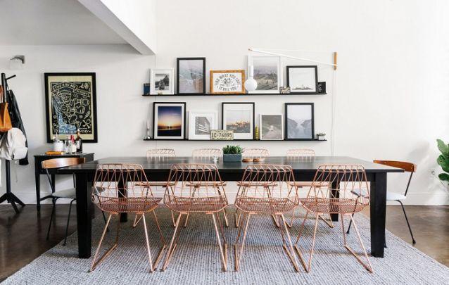 Tendências de decoração de sala de jantar para deixar o ambiente moderno Foto 4
