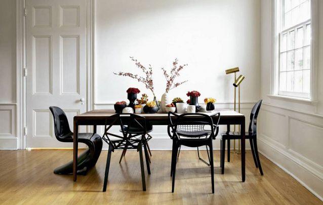 Tendências de decoração de sala de jantar para deixar o ambiente moderno Foto 8