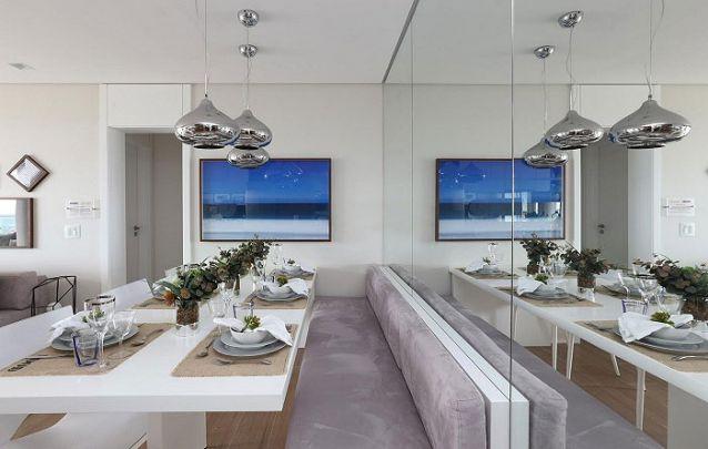 Tendências de decoração de sala de jantar para deixar o ambiente moderno Foto 15
