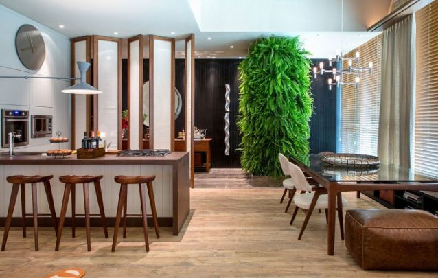 Tendências de decoração de sala de jantar para deixar o ambiente moderno Foto 17