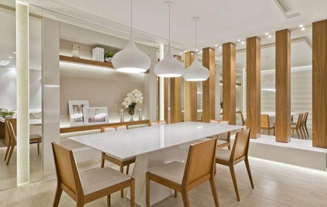 Tendências de decoração de sala de jantar para deixar o ambiente moderno Foto 16