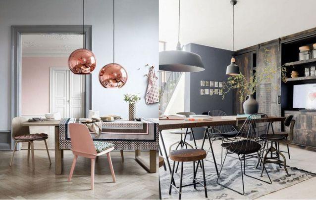 Tendências de decoração de sala de jantar para deixar o ambiente moderno Foto 22