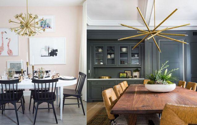 Tendências de decoração de sala de jantar para deixar o ambiente moderno Foto 23