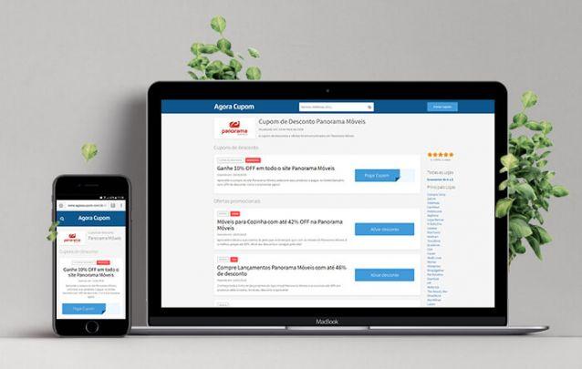 Cupom de Desconto ao comprar móveis online