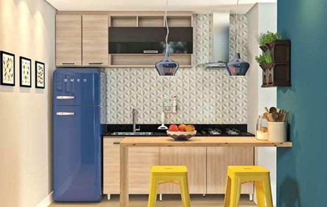 Dicas para montar uma cozinha com móveis planejados Foto 1