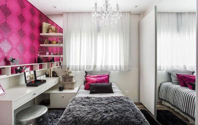 Que tal esse quarto de adolescente de luxo? Um arraso!