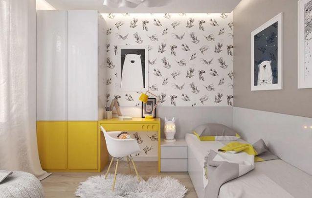 Um quarto perfeito para uma adolescente delicada