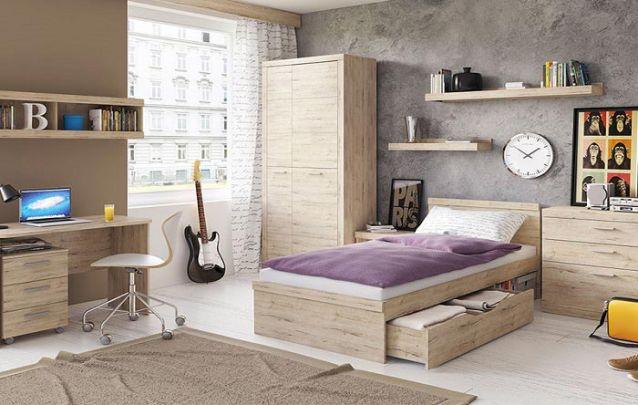 A gaveta embaixo da cama é uma ótima solução para aumentar o espaço para armazenamento