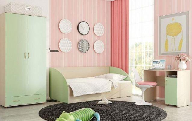 Estas cores para quarto feminino adolescente criaram um ambiente romântico e delicado, com certo toque vintage