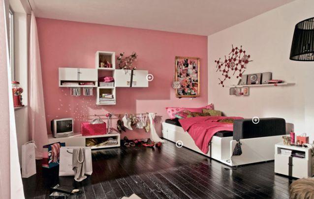 Este quarto para adolescentes grita modernidade em todos os cantos!