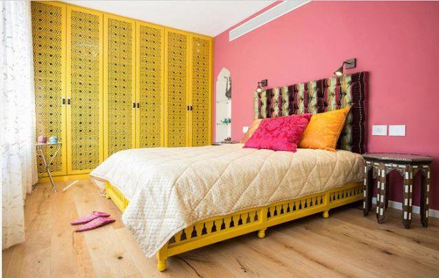 Que tal apostar em um tema indiano e colorido para um quarto de adolescente?