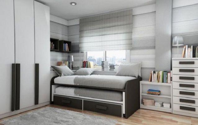 A cama auxiliar é uma alternativa prática na hora de receber os amigos para dormir