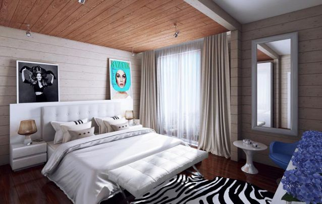 Mais uma opção para meninas que curtem um quarto com uma decoração mais leve