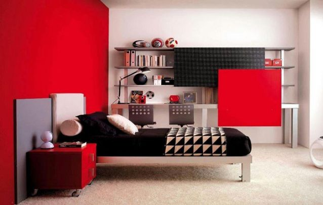 Quem gosta da combinação entre preto e vermelho?