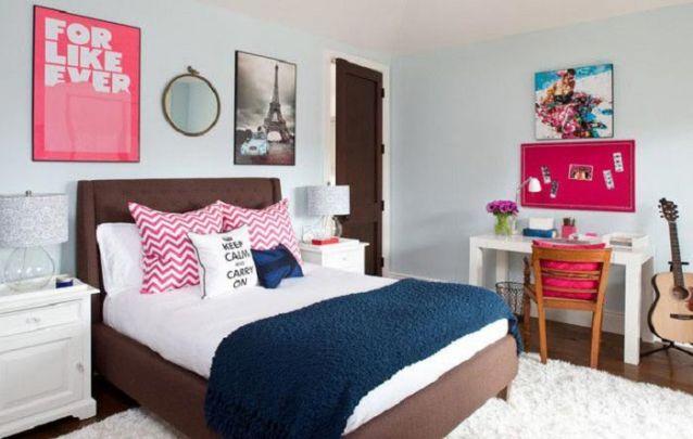 Além de bonito, um tapete no quarto o deixa mais aconchegante e confortável