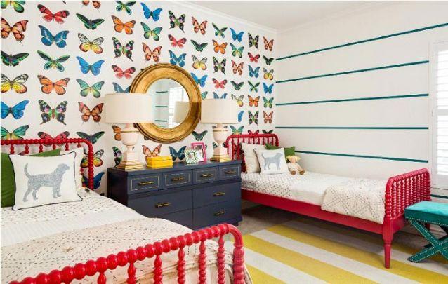 Um quarto de menina decorado com atitude!