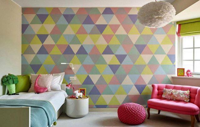 Você pode usar o papel de parede para trazer destaque para uma parede