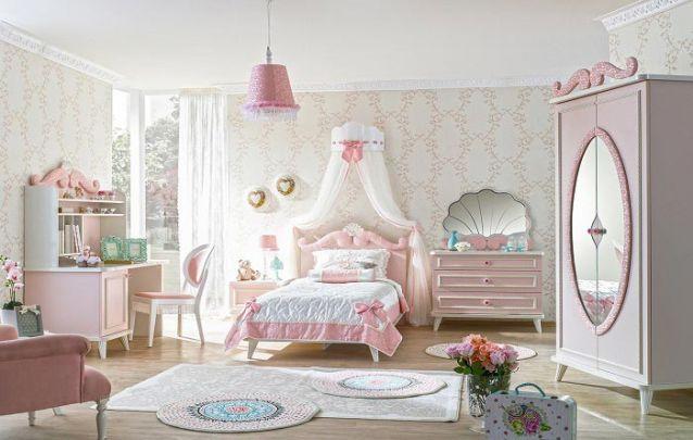 Um belíssimo quarto de princesa