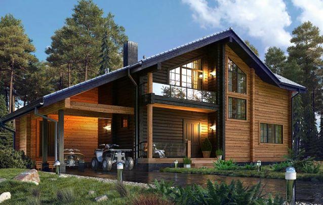 Esta é uma boa escolha entre plantas de casas com 4 quartos para uma família maior