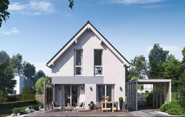 Este modelo é ótimo para quem está em busca de casas modernas pequenas
