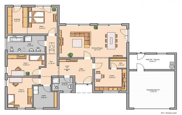Esta é uma boa escolha entre plantas de casas modernas