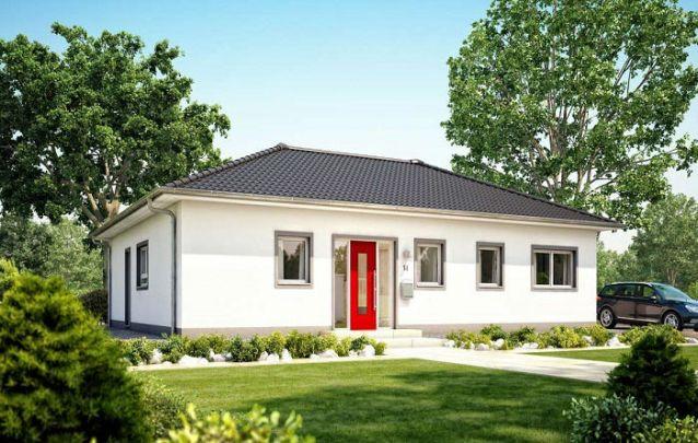 Esta é uma opção entre plantas de casas com 3 quartos para uma família com até 4 pessoas
