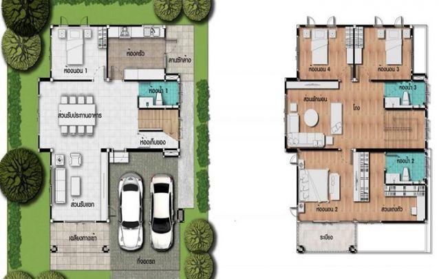 Uma opção entre casas modernas que conta com 1 suíte, 3 quartos e 2 banheiros