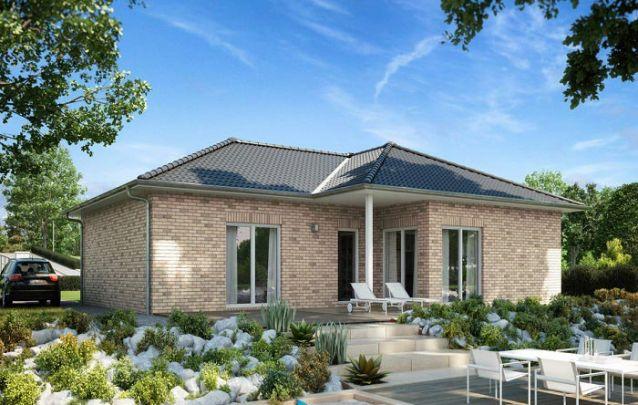 Este modelo é uma boa alternativa entre plantas de casas pequenas com 2 quartos