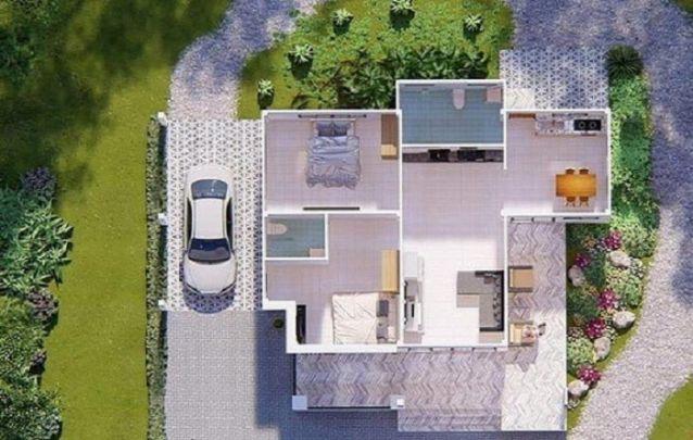 Se você procura plantas de casas pequenas, aqui está um bom caminho para se inspirar