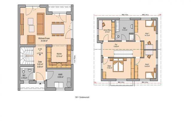 Esta é uma alternativa para quem deseja plantas de casas simples, sem perder espaço e funcionalidade