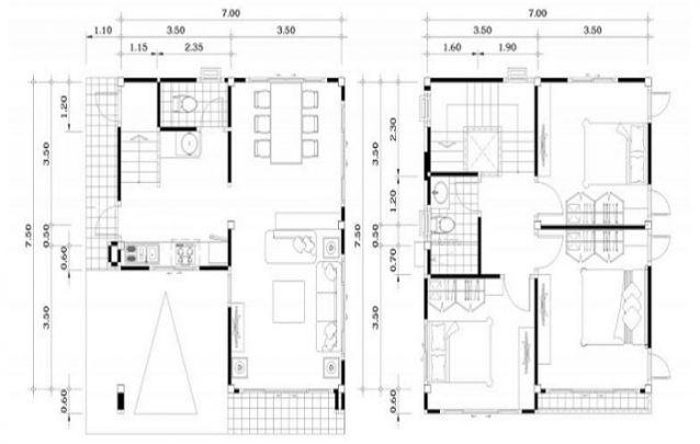 Mais uma opção para quem busca casas pequenas e modernas