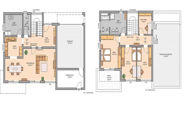 3 quartos, 2 banheiros e um layout contemporâneo