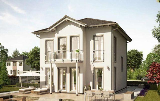 Esta é mais uma boa alternativa entre plantas de casas com 3 quartos e dois andares