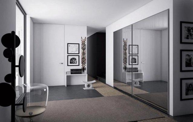 Se faltar espaço em seu quarto, você pode instalar o seu guarda roupa planejado no corredor