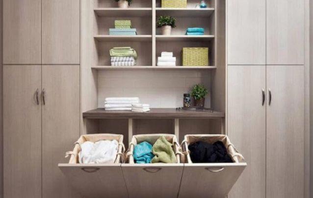 Moveis Planejados na lavanderia