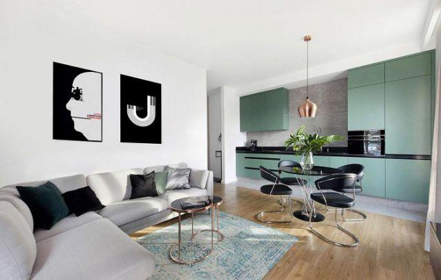 Móveis planejados são capazes de otimizar espaço em ambientes integrados