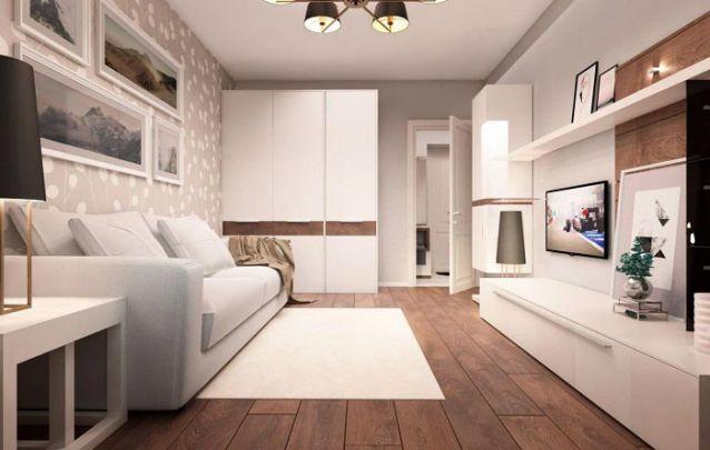 Para ampliar espaço de armazenamento, aposte em um armário planejado na sala de estar