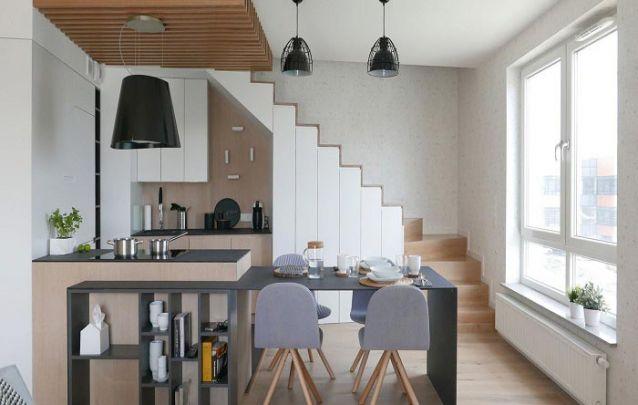 Móveis planejados modernos para compor uma decoração jovem e atual