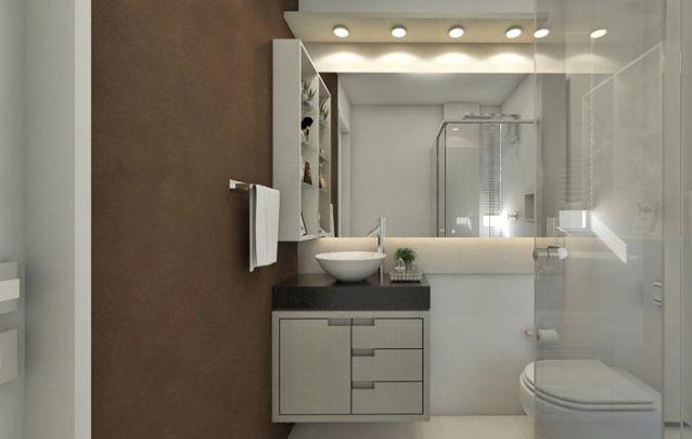 Projeto de iluminação agrega valor ao banheiro planejado