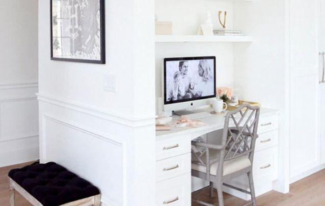 Com móveis planejados é possível montar um home office em qualquer cantinho
