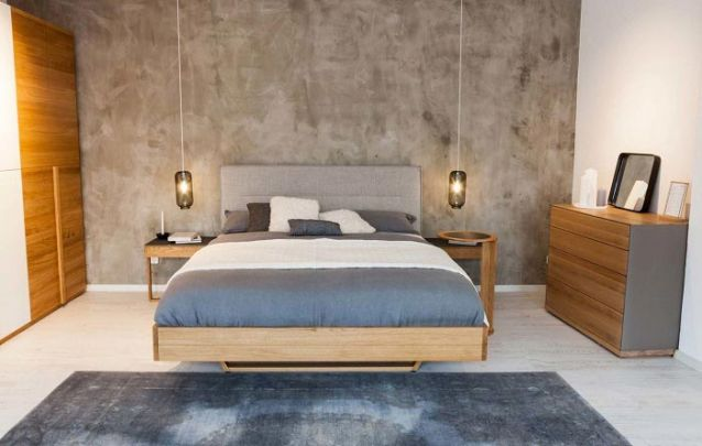 Em um quarto a cama também pode ser planejada e feita sob medida