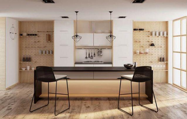 Esta cozinha americana é o exemplo do estilo escandinavo em sua melhor forma