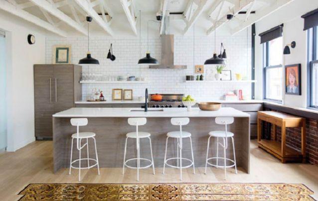 Os acessórios podem definir o estilo de sua cozinha americana