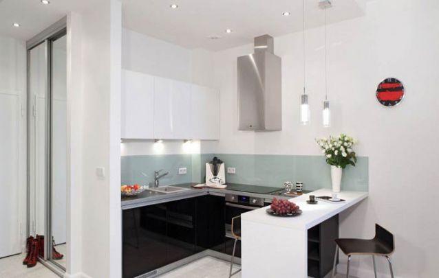 Aposte em uma cozinha americana planejada para ambientes pequenos