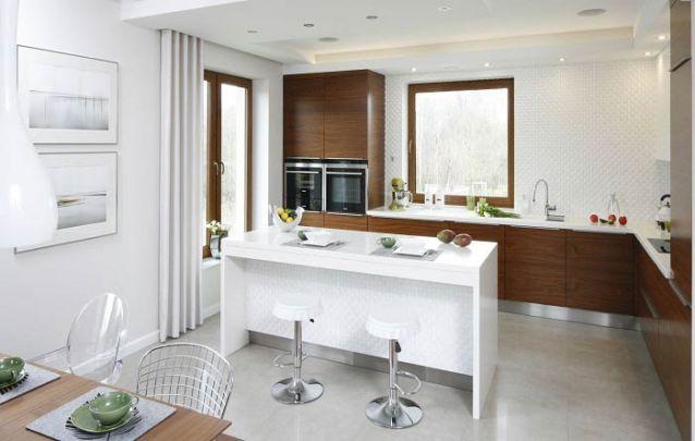 Mesmo com uma mesa de jantar, você pode utilizar o balcão de cozinha para refeições rápidas