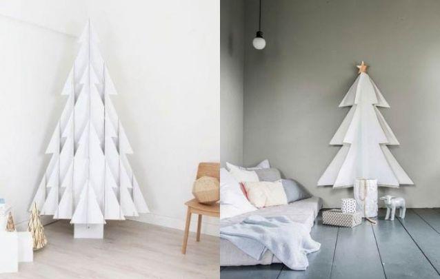 E que tal um modelo feito em papel branco para variar?